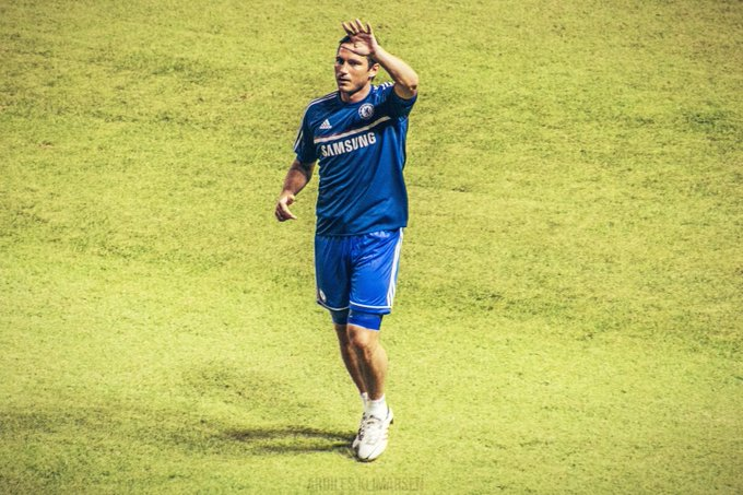 Happy Birthday Frank Lampard ! Photo by Ardiles Klimarsen, Chelsea FC v Indonesia - BNI Cup, Gelora Bung Karno