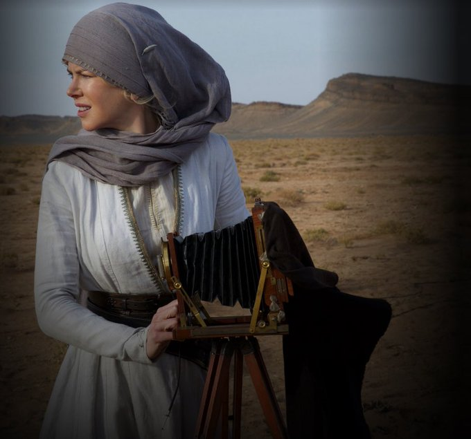 Happy Birthday to Queen of the Desert protagonist Nicole Kidman. All the best