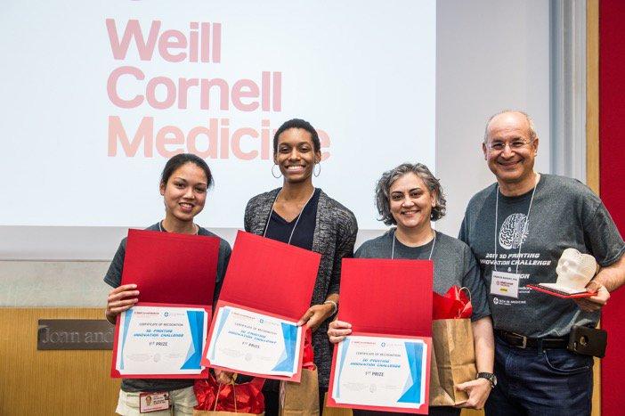 First-ever @WeillCornell Tech-In-Medicine hackathon focuses on 3-D printing innovation https://t.co/WMGzbm8zSr https://t.co/XBhBsu7Wev