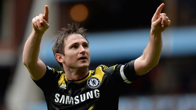 Happy birthday to my idol and Chelsea legend Frank Lampard