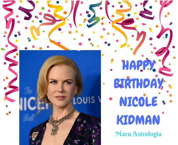 HAPPY BIRTHDAY NICOLE KIDMAN!!!