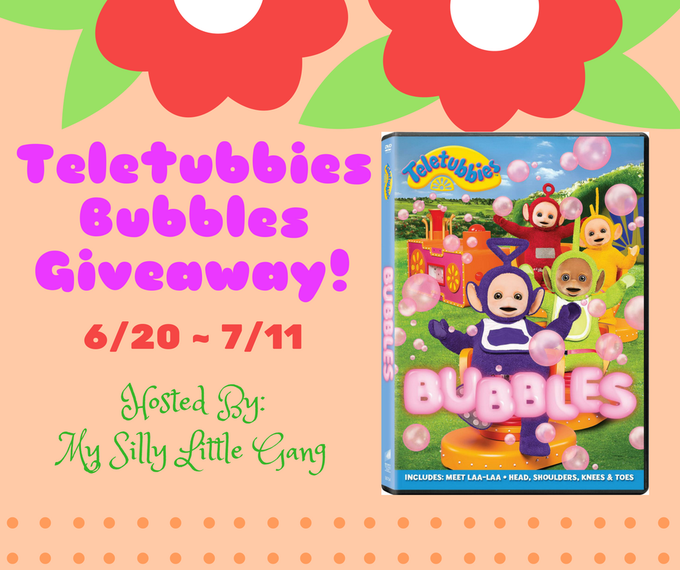 Teletubbies Bubbles DVD Giveaway