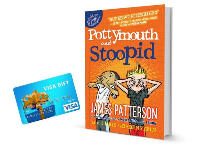 #WIN Pottymouth and Stoopid Book & $50 Visa Gift Card [7/04]