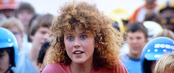 Happy 50th birthday to Nicole Kidman, star of BMX Bandits.