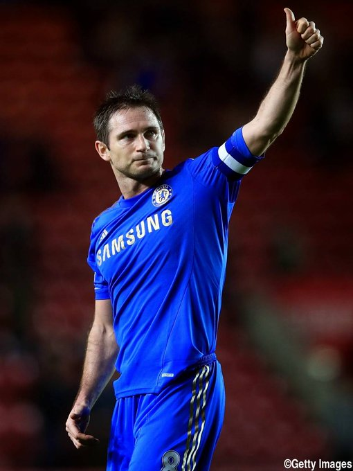 Happy birthday Frank Lampard !!!!! Nice footballer !!! Come on Chelsea head coach !!!!