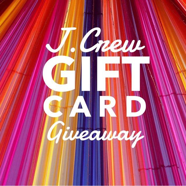 $200 J.Crew Gift Card Giveaway (7/7 WW)