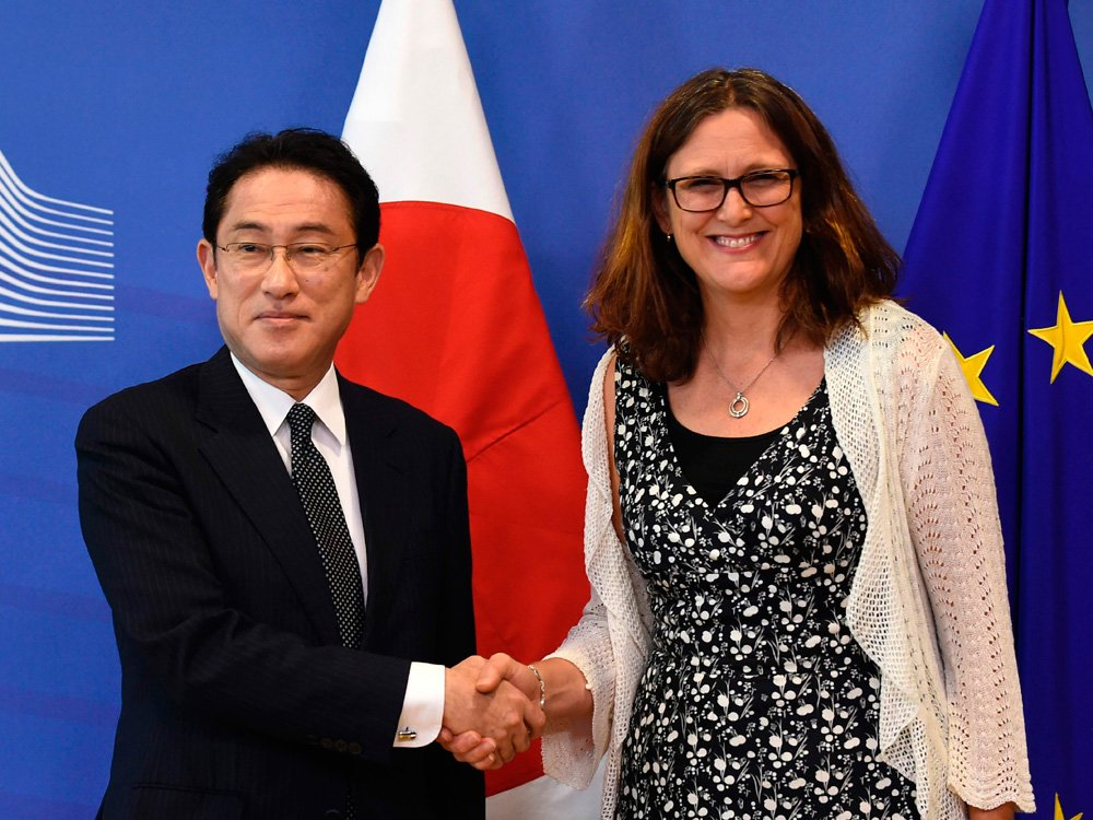 EU-Japan come to agreement on trade deal