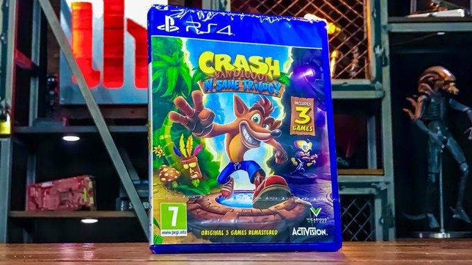 Διαγωνισμός Crash Bandicoot N.Sane Trilogy