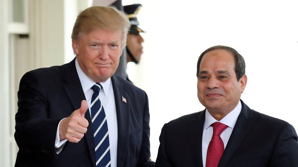 Trump calls Egypt's Sisi over Gulf crisis