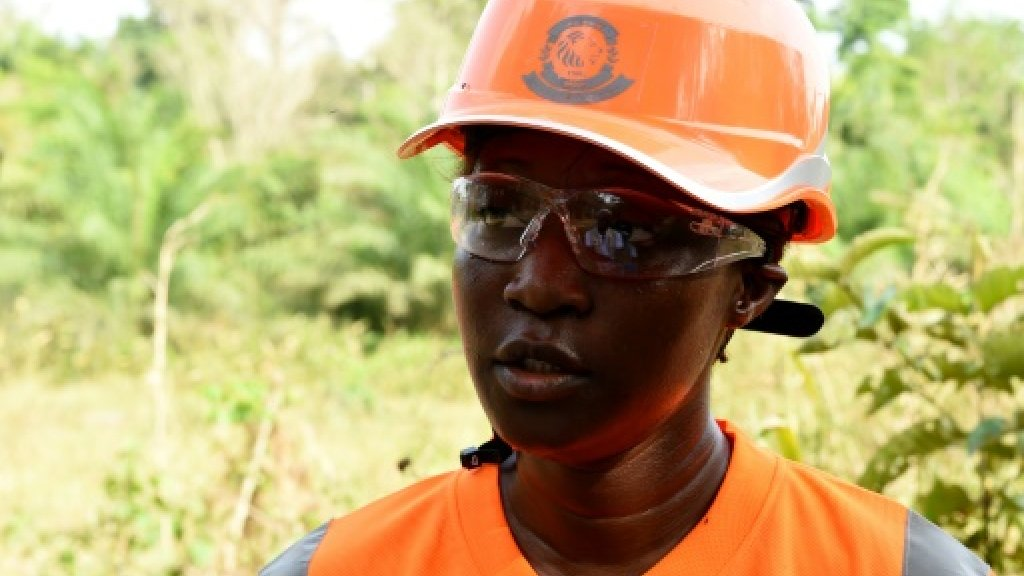 Guinean former fashion model digs into west African mining