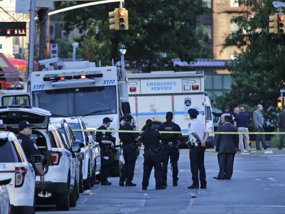 New York City cop fatally shot in 'unprovoked attack' as she sat in marked police vehicle