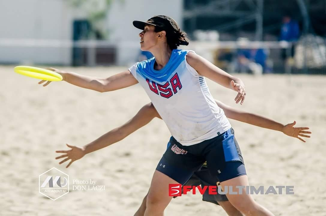 @claudia_tajima  of  USA Women&#039;s National Team  @fiveultimate  #AllAboutU #TeamUSA #USA #WCBU2017 #FiveUltimate https://t.co/cDEQ1FAHOS <a href='https://twitter.com/PUImages/status/882599447649058820/photo/1' target='_blank'>See original &raquo;</a>