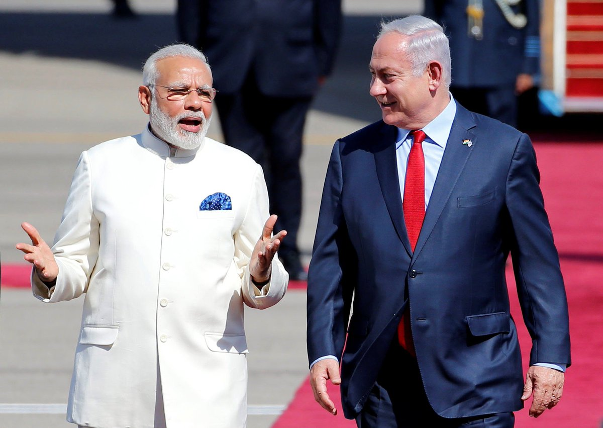 Here's what India wants from Israel