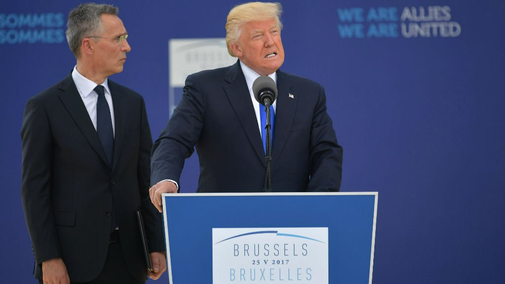 On second Europe trip, will Trump mend fences or further strain ties?