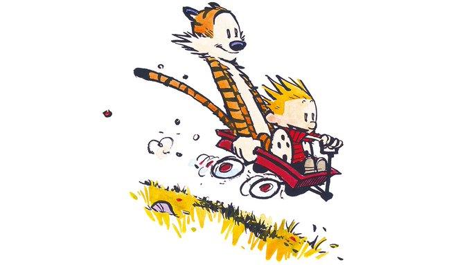 Wagon Rides All Around!!! Happy Birthday, Bill Watterson!!!