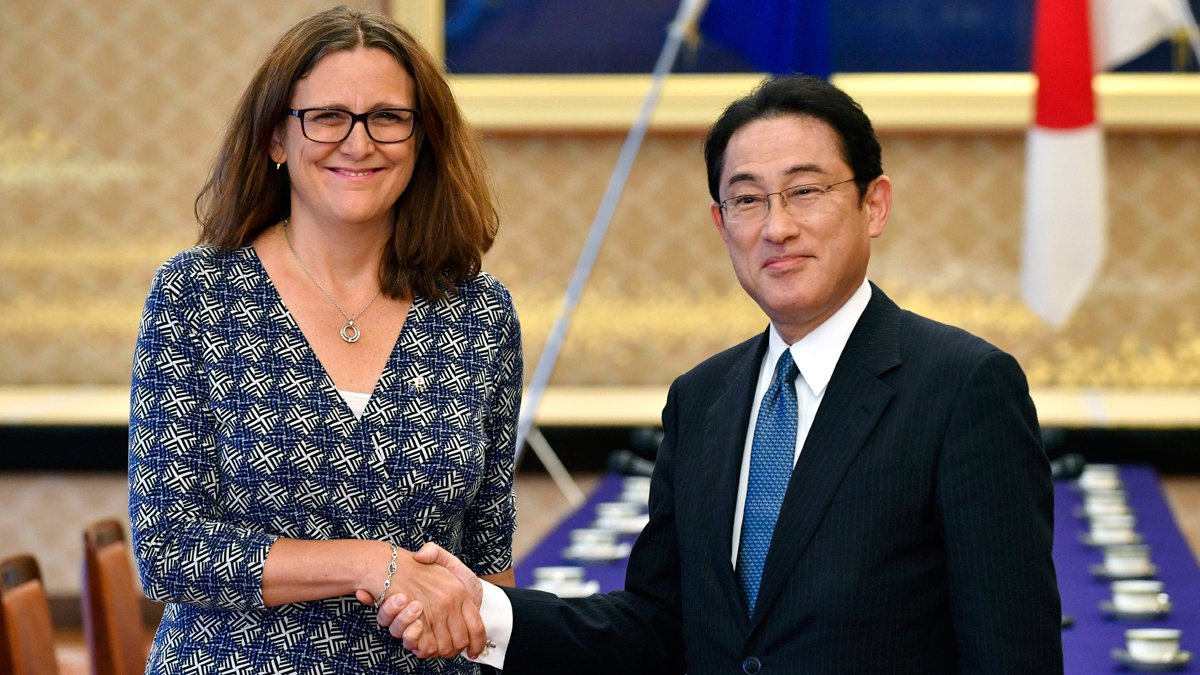 EU, Japan have 'agreement in principle' on free trade deal