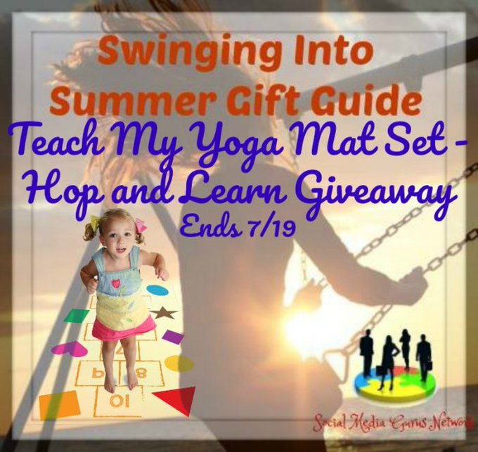 Teach My Yoga Mat Set