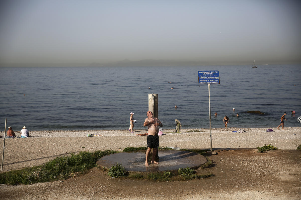Cyprus' record heat wave claims lives of 2 people