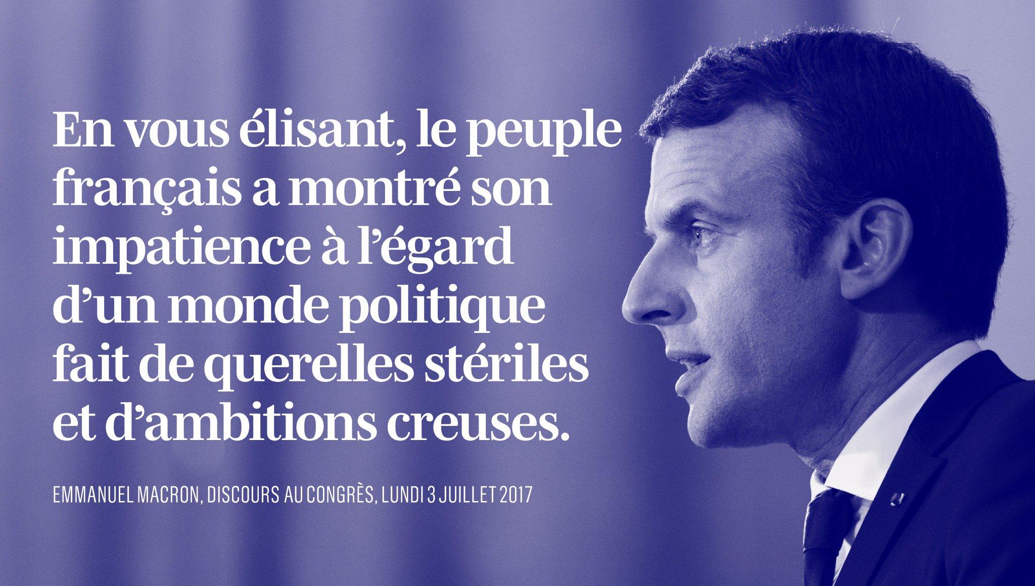 Le peuple français a donné congé à une manière de voir la politique. https://t.co/TipEaPQPMo