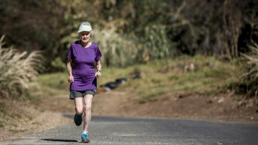 South Africa's record-breaking running 'Grand Dame'