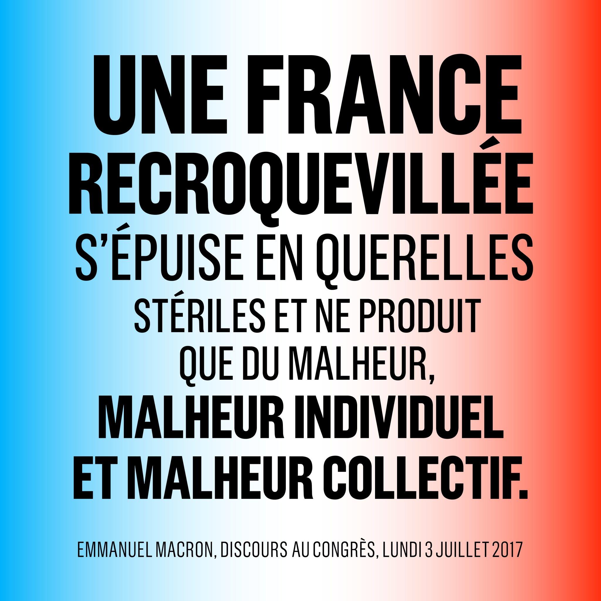 Une France arrêtée s'affaisse, se divise. https://t.co/dMdhFR4luW