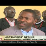 Dons and university workers begin strike over pay