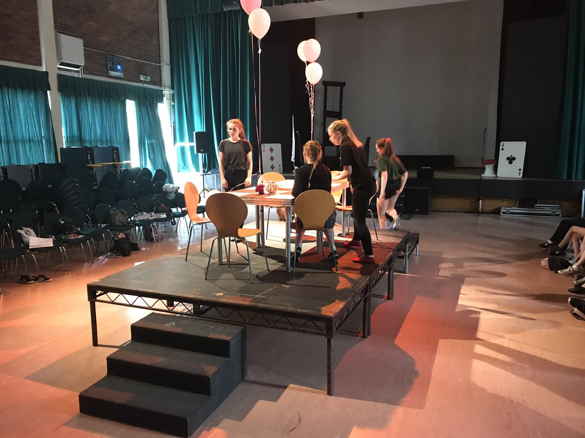 test Twitter Media - RT @twbsmusic: Rehearsals are going well for the @WGSWindsorGirls production of Alice in Wonderland. https://t.co/cGyS6Li0BE