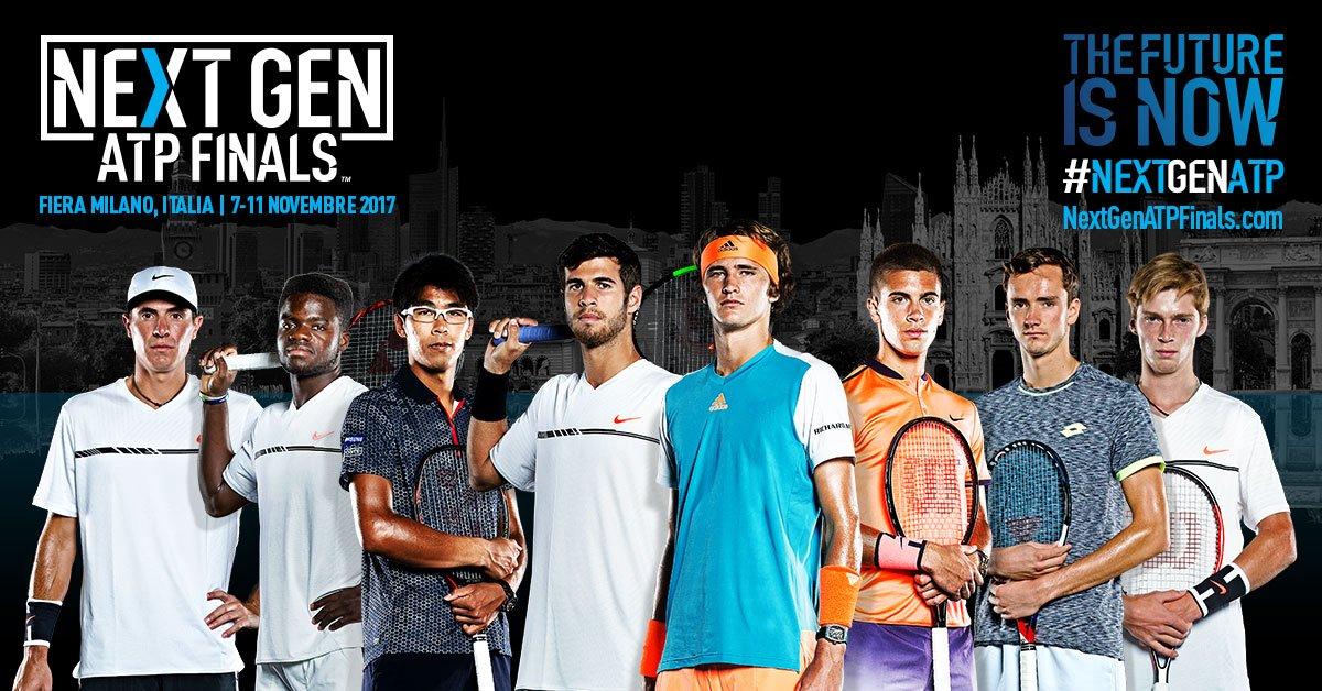 Ci stiamo avvicinando alle #NextGenATP Finals!  Acquista i biglietti su: https://t.co/pAk41wOf5s https://t.co/7uoYUsJFfe