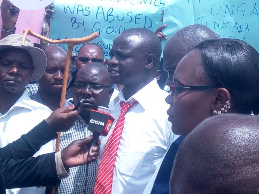 Striking Moi hospital nurses accuse SRC of impeding pay rise