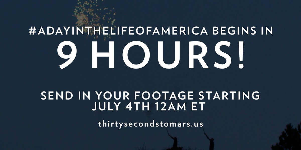 9 HOURS. #ADayInTheLifeOfAmerica https://t.co/knO82uhxTy https://t.co/X9umPqIQyf