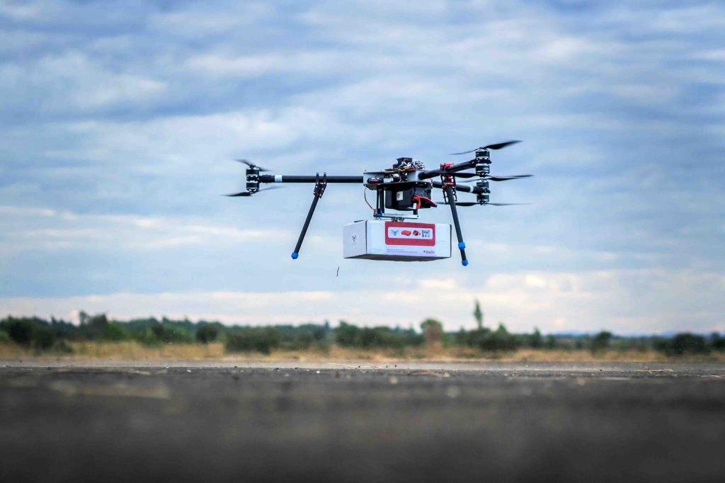 Malawi Opens Up Air Corridor to Test Use of Drones in Humanitarian Missions