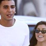Kourtney Kardashian and 23-Year-Old Model Beau Younes Bendjima Hold Hands During St. TropezTrip
