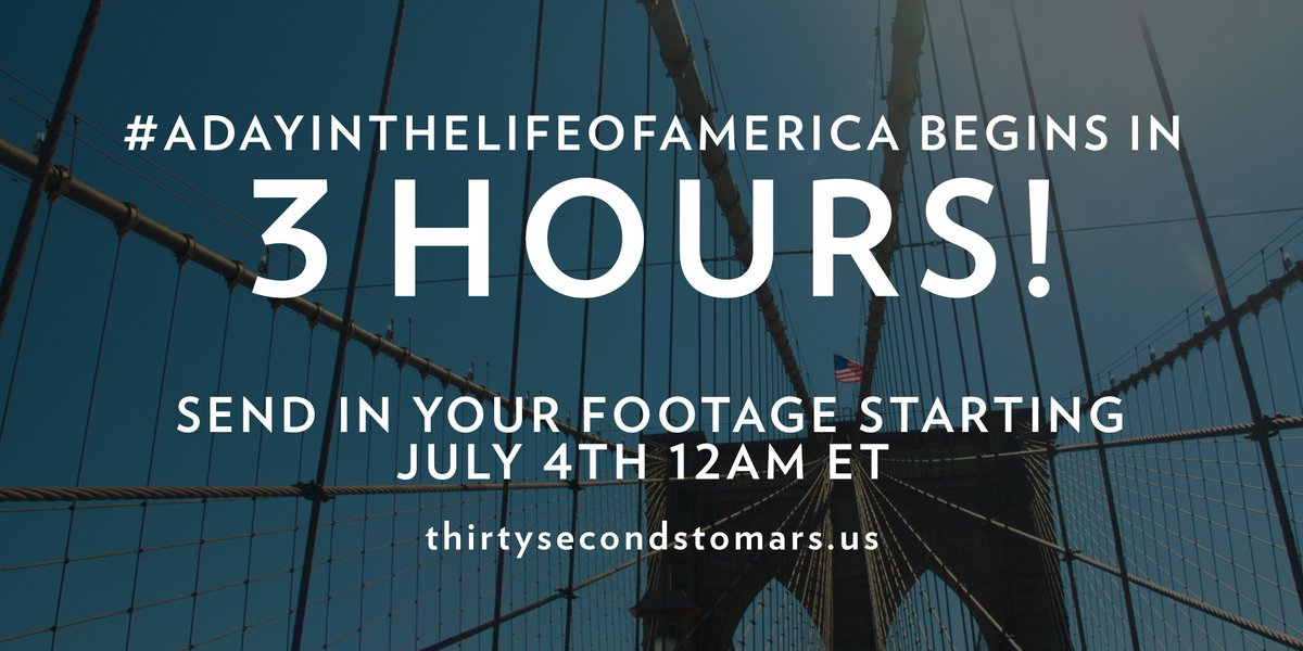 3 HOURS. #ADayInTheLifeOfAmerica https://t.co/knO82tZX20 https://t.co/N8wddJLOgr