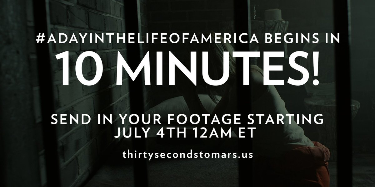 10 MINUTES. #ADayInTheLifeOfAmerica https://t.co/knO82uhxTy https://t.co/h1SDChhJIF
