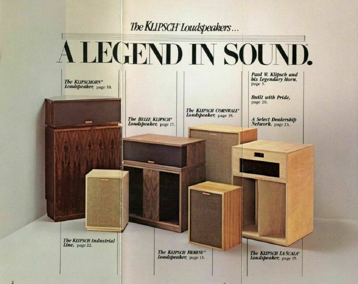 A Legend In Sound - Designed & Assembled in the USA, by proud craftsmen in Hope, Arkansas - just like our founder, Paul W. Klipsch intended https://t.co/PNlbCiwjfl