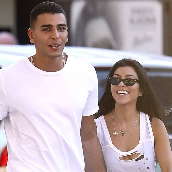 Kourtney Kardashian and Younes Bendjima were all smiles while holding hands in St. Tropez: