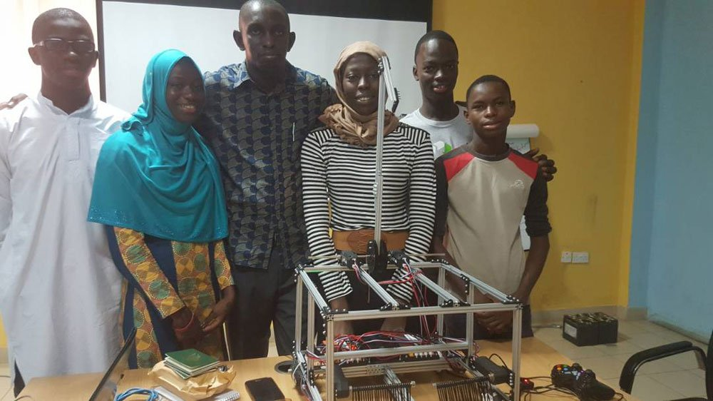 5 Gambian teens denied US visa for a prestigious international robotics competition