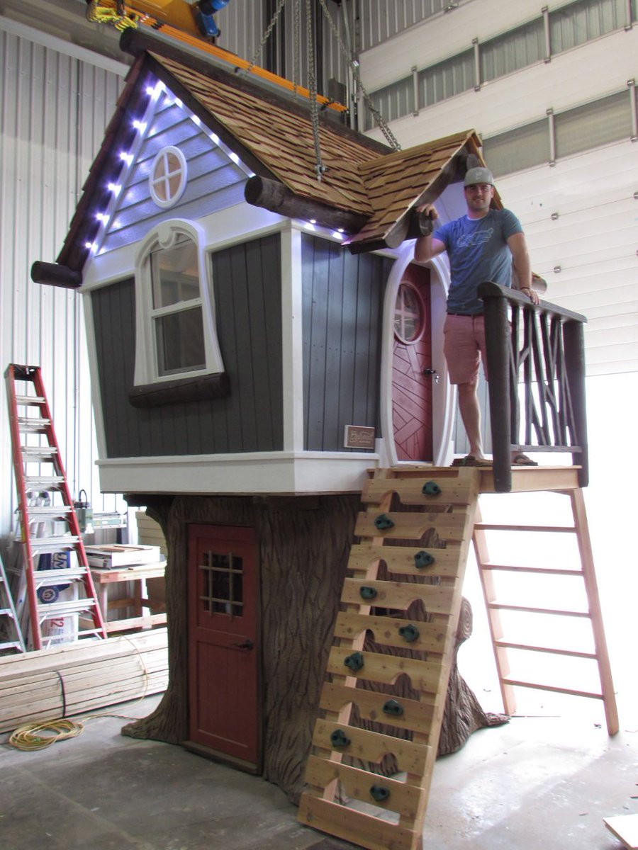 'Nicer than most houses:' $200K luxury playhouses a thriving business
