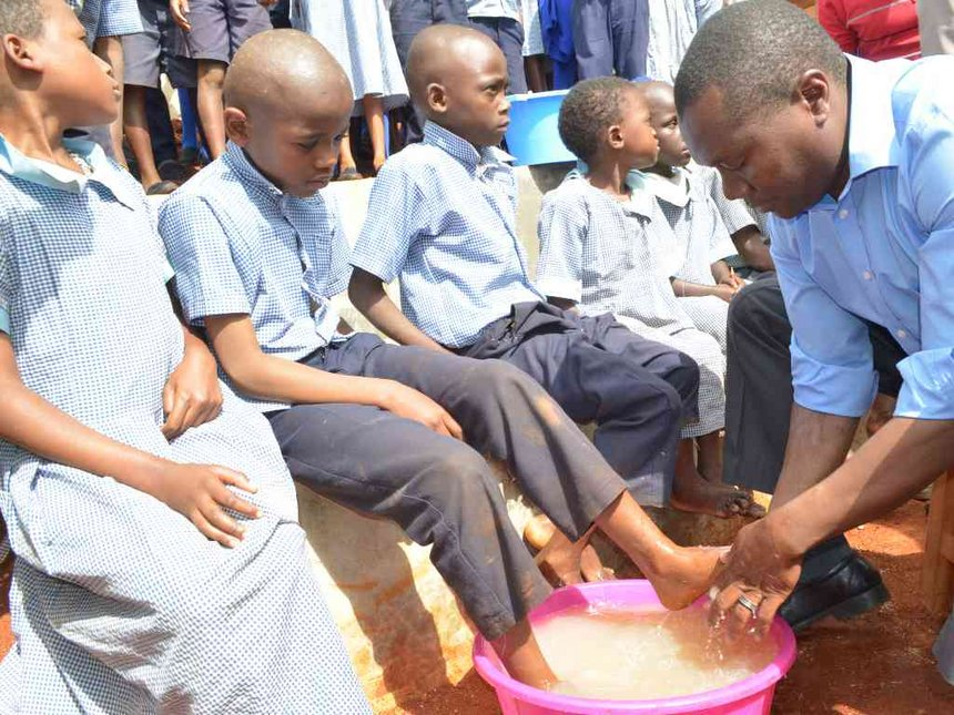 Two pupils in special classes due to severe jigger infestation