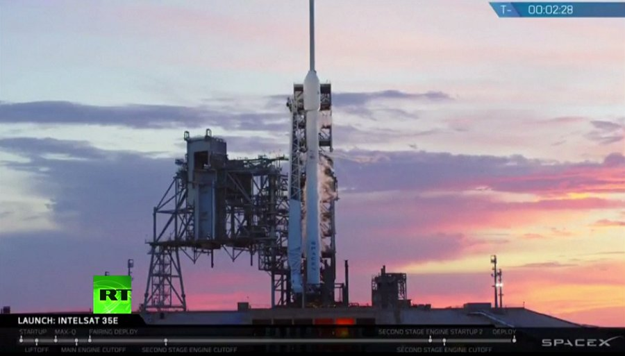 WATCH LIVE: SpaceX Falcon 9 rocket launches comms satellite