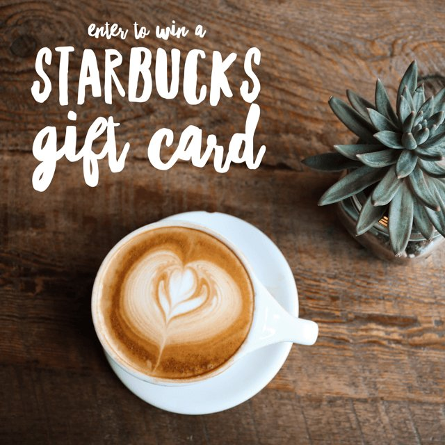 $150 Starbucks Gift Card Giveaway (7/24 WW)