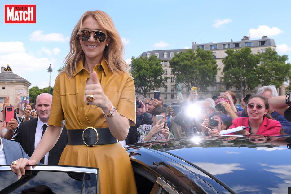 RT @ParisMatch: Céline Dion superstar du défilé Dior https://t.co/xworFCIART https://t.co/1mgNKXe0mY