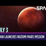 Today in Space – July 3: Japan Launches Nozomi Mars Mission
