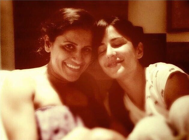 """Happy birthday my love, there for me in sickness & health, good times & bad, till death do us part\""  Katrina Kaif"