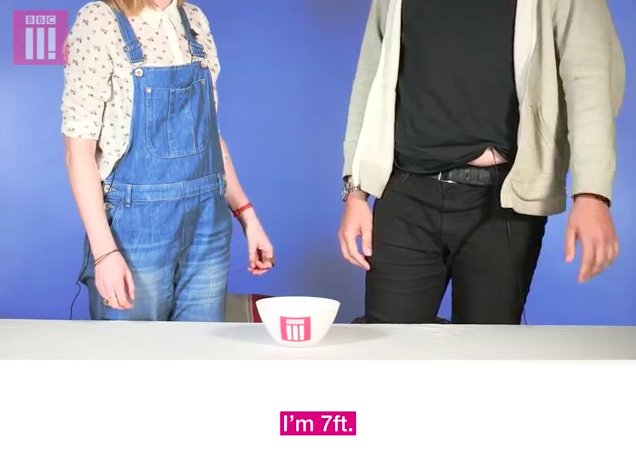 Tall people know that they're tall. STOP TELLING THEM.  From our (really tall) friends at @BBCThree. https://t.co/YOM5UmenMl