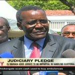 CJ Maraga asks judges to be impartial in handling electoral disputes