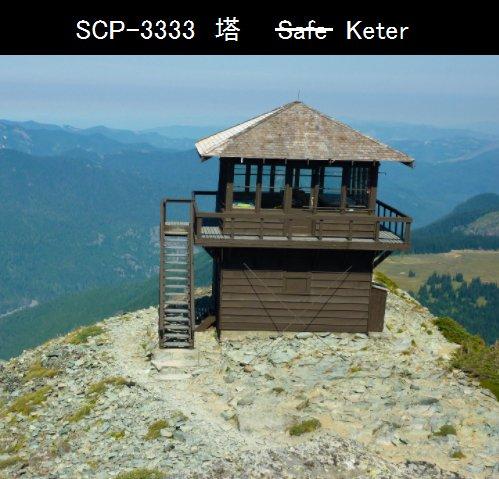 建物型SCP。山の観測小屋建物内の梯子の先が全く同じ空間になっており、いわゆるコピールームが延々と続く問題はそこの住人で