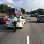 KLIA2 auxiliary policeman dies in Elite Highway hit and run accident