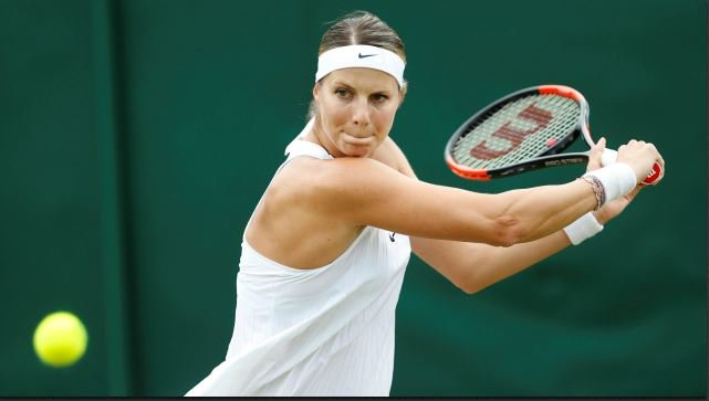 Wimbledon   See Pic: Luxembourg's Mandy Minella shows baby bump after Round 1 Loss
