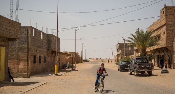 Climate change threatens nomadic life in Morocco